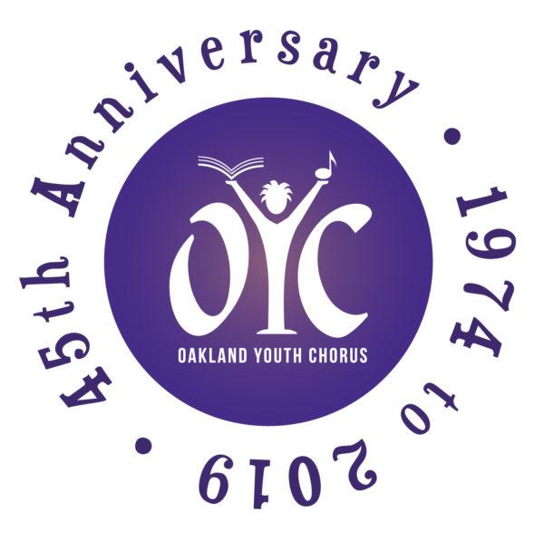 OYC 45th Anniversary logo